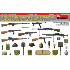 Soviet Infantry Automatic Weapons & Equipment - Special Edition 1/35