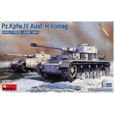 Pz.Kpfw.IV Ausf.H Vomag Early Prod. June 1943 1/35