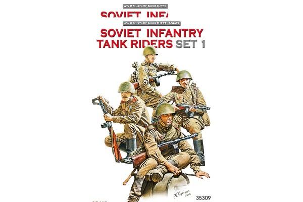 Soviet Tank Riders (Set 1) 1/35