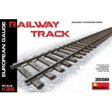Railway Track (European Gauge) 1/35