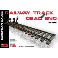 Railway Track & Dead End (European Gauge) 1/35