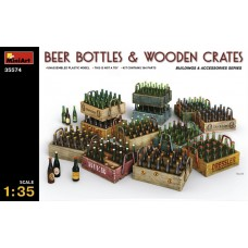 Beer Bottles & Wooden Crates 1/35