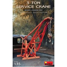 3 Ton Service Crane with Pe Parts & Metal Chain 1/35
