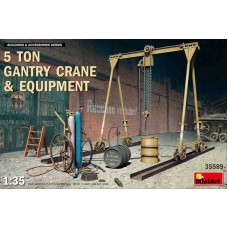 5 Ton Gantry Crane and Equipment 1/35