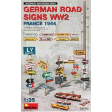 German Road Signs WW2 (France 1944) 1/35