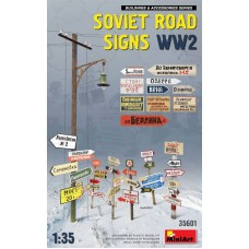Soviet Road Signs WWII 1/35
