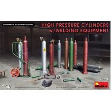 High Pressure Cylinders with Welding Equipment 1/35