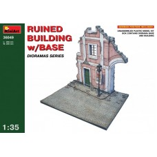 Ruined Building w/base 1/35
