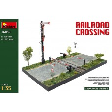 Railroad Crossing 1/35