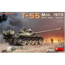 T-55 Mod. 1970 with OMSh tracks 1/35
