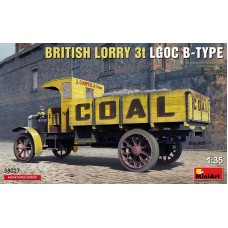 British Lorry 3t LGOC B-Type 1/35