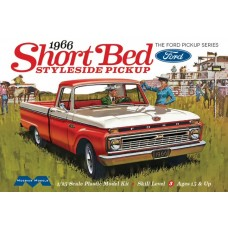 1966 Ford Short Bed Styleside Pickup Truck 1/25