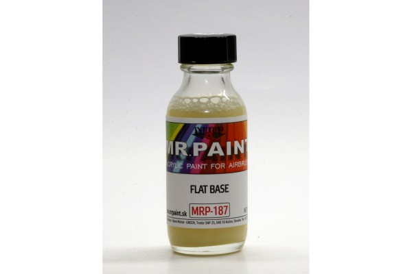MRP-187 Flat Base (add max 10% to color)