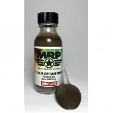 MRP-345 SCC No.1A Very Dark Brown