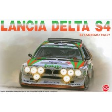 Lancia Delta S4 '86 Sanremo Rally 1/24