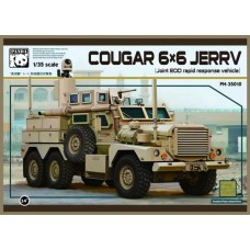 MRAP Cougar 6x6 JERRV (Joint EOD rapid response vehicle) 1/35
