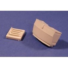 RE35-163 Stowage Bin for Tiger I Tank 502 and 503 sPzAbt 1/35