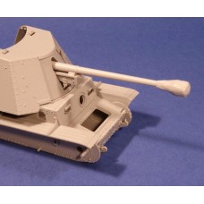 RE35-166 PaK40 Barrel with Canvas Cover 1/35