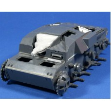 RE35-177 Mantlet with Canvas Cover for StuG III B 1/35