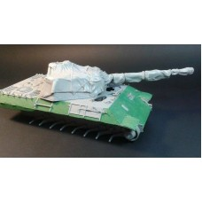 RE35-420 Panther A/G Turret with Zeltbahn Camouflage Net 1/35