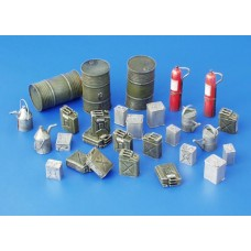 Fuel-stock equipment, Allies - WWII, 1/35