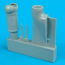1/32 Bf 109G-6 (early) Tropical Dust Filter for Hasegawa kit