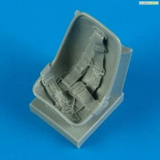 1/32 Bf 109E seat with safety belts