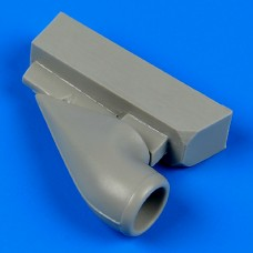 1/32 Bf 109G-6 correct air intake for Revell kit