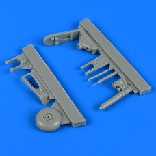 1/32 Fw 190F-8 Tail Wheel Assembly for Revell kit