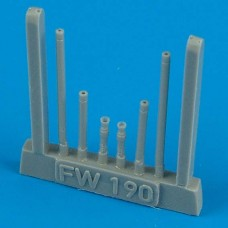 1/48 Fw 190A-8 gun barrels for Tamiya kit