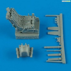 1/48 MiG-29A Fulcrum ejection seat with safety belts