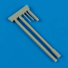 1/48 Me 410B-2/U4 gun barrels for Meng kit