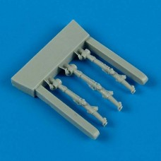 1/48 Me 410A/B control lever for Meng kit