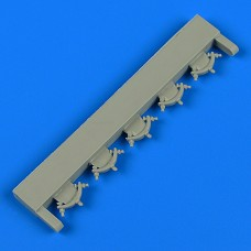 1/48 Il-2 Shturmovik bomb ejectors for Tamiya kit