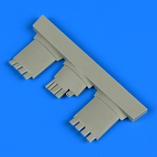 1/48 Fw 190A exhaust for Eduard kit