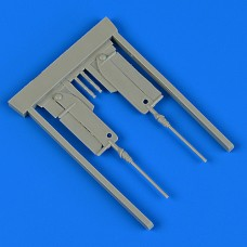 1/48 Bf 109 G-6 gun barrels for Tamiya kit