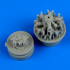 1/72 F4F-4 Wildcat Engine for Airfix kit