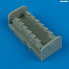 1/48 Bf 109G-6 Exhaust for Hasegawa kit
