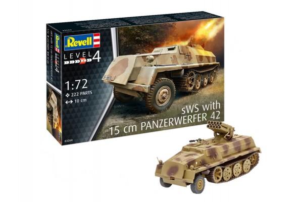 15 cm Panzerwerfer 42 auf sWS 1/72