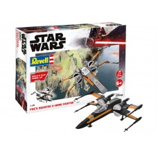 Poe's Boosted X-wing Fighter 1/78