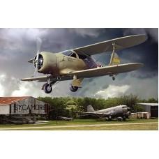 Beechcraft UC-43 Staggerwing 1/48