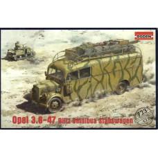 Opel 3.6-47 Omnibus Staffwagen 1/72
