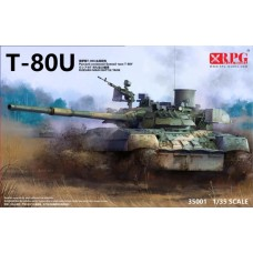 T-80U Main Battle Tank 1/35