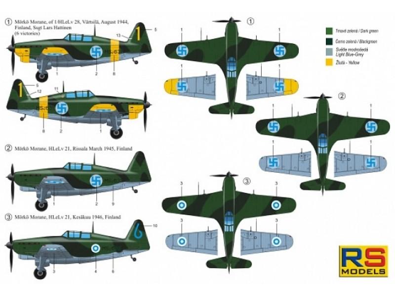 Mörkö-Morane 1/72 - RS Models 92264   HPNS