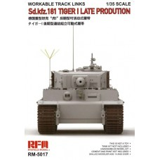 Workable Track Links for Sd.Kfz. 181 Tiger I Late Production 1/35
