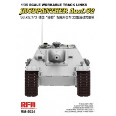 Workable Track Links for Jagdpanther Ausf.G2 1/35