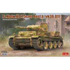 Pz.Kpfw.VI (7,5cm) Ausf.B (VK36.01) w/workable track links 1/35