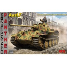 Sd.Kfz.171 Panther Ausf. F w/ workable track, Kw.K L/70 & Kw.K L/100 1/35