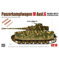 Pz.Kpfw.IV Ausf.G Sd.Kfz.161/1 w/with workable track links 1/35