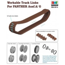 Workable Track Links for Panther Ausf. A/G 1/35